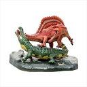ダイナソー ミニモデル ジオラマフィギュア スピノサウルス vs サルコスクス恐竜 フェバリット ギフト 雑貨 荒木一成 原型 卓上インテリア