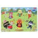 ケース付きB4パズル 知育玩具 アンパンマン ハッピーロッピーH 6ピース サンスター文具 マイファーストセイカ 日本製 通販