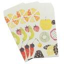ショッピングポチ袋 ポチ袋(小)3枚セット Tomoko Hayashi ぽち袋 ピンクミックス クローズピン 金封 ミニ封筒 ガーリーイラスト メール便可