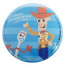 ビッグ カンバッジ 缶バッジ トイストーリー 4 フォーキー & ウッディ ディズニー デルフィーノ 直径5.5cm コレクション 雑貨 プチギフト メール便可