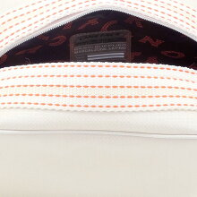OnetackZIPPEDCASE710/03White/OrangeStitchoutlet