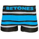【再入荷】BETONES(ビトーンズ)BREATH BLACK(ブラック・ブルー)ボクサーパンツ フリーサイズ 男性下着 メンズ アンダーウェア ギフト 誕生日プレゼント 【雑誌LEON,OCEANS掲載】