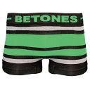 【再入荷】BETONES(ビトーンズ)BREATH BLACK(ブラック・グリーン)ボクサーパンツ フリーサイズ 男性下着 メンズ アンダーウェア ギフト 誕生日プレゼント 【雑誌LEON,OCEANS掲載】