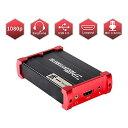 ShuOneキャプチャカード、USB 3.0 HDMIゲームキャプチャカードデバイス、HDMIループアウトおよびマイクオーディオミックスサポートHD