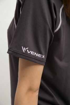 【送料無料】VENEXベネクスリカバリーウェアレディースリチャージショートスリーブT上下セット