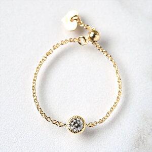 ダイヤモンド チェーン ゴールド ダイアモンド プチプラ スライドアジャスタ