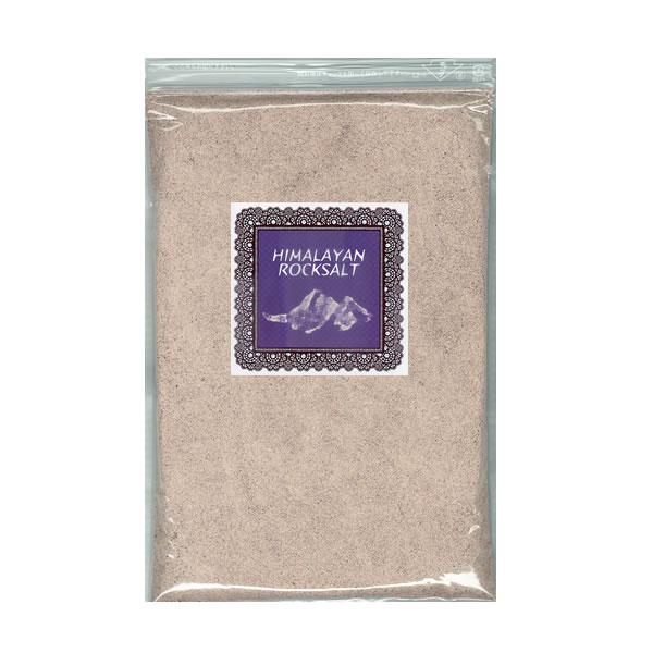 ブラックソルト 1kg 岩塩粉末(パウダーソルト)|ルビーソルト|食塩・バスソルト兼用|送料無料