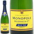 ブルー トップ ブリュット 750ml 箱なし 並行品*(エドシック モノポール) (シャンパーニュ)白【シャンパン コク辛口】【ワイン】【GVD】【RCP】【wineday】^VAEM06Z0^