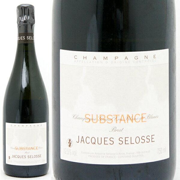 【送料無料】ジャック・セロス シュブスタンス ブリュット ブラン・ド・ブラン 750ml 白【シャンパン コク辛口】【ワイン】【GVD】【RCP】【wineday】^VAJSSBZ0^