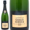 [2005] ブリュット ミレジム(ヴィンテージ) 箱なし 750ml  並行品*(シャルル・エドシック)(シャンパーニュ)白【シャンパン コク辛口】【ワイン】【GVD】【RCP】【wineday】^VACH46A5^