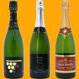 ワインセット 送料無料 スパークリングワイン すべて本格シャンパン製法の豪華泡3本セット ≪第98弾≫ ワイン ギフト wine gift ^W0GR16SE^