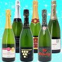 ワインセット スパークリングワイン 送料無料 本格シャンパン製法の極上の泡6本セット 第179弾 ワ
