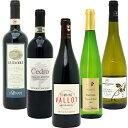 【送料無料】 赤ワイン 白ワイン ワインセット BIOワイン極上赤白5本セット(赤3本+白2本)≪第39弾≫^W02I39SE^