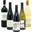 ワインセット 【送料無料】 赤ワイン 白ワイン ワインセット BIOワイン極上赤白5本セット(赤3本+白2本)≪第42弾≫^W02I42SE^