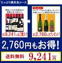 【2,760円のセットがタダになった!】【送料無料】たっぷり満足泡コース(赤12本+本格