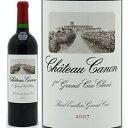 [2007] シャトー カノン 750ml (サンテミリオン第1特別級)赤ワイン【コク辛口】 【ワイン】【GVA】【AB】^AKCA01A7^