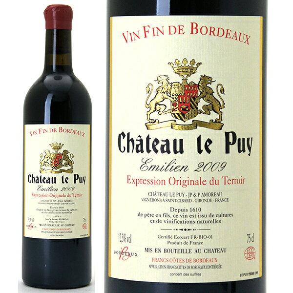 [2009] シャトー・ル・ピュイ エミリアン  750ml (AOCコート・ド・フラン)赤ワイン【コク辛口】【ワイン】【GVA】【RCP】【AB】【wineday】^ANDT01A9^