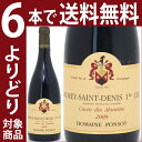 [2009] モレ サン ドニ 1級畑 キュヴェ デ ザルエット 750ml(ポンソ)赤ワイン【コク辛口】^B0POMAA9^