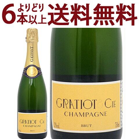 【よりどり6本で送料無料】グラシオ エ シー No.1 ブリュット 750ml (アルマナック)白泡【シャンパン コク辛口】 スパークリング ワイン ギフト gift ^VAGGANZ0^