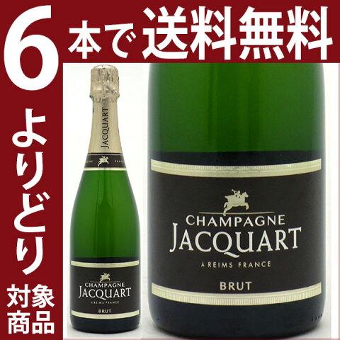 [14]【よりどり6本で送料無料】ジャカール シャンパン ブリュット 750ml白泡【シャンパン コク辛口】チラシ14^VAQM06Z0^