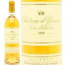 【送料無料】[1998] シャトー ディケム  750ml (ソ−テルヌ特別第1級)白ワイン【コク極甘口】【ワイン】【GVA】【RCP】【AB】【wineday】^AJDY0198^