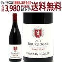 よりどり6本で送料無料[2017]ブルゴーニュピノノワール750mlメゾンジル(ブルゴーニュフランス)赤ワインコク辛口ワイン^B0GLBP17^