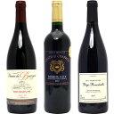 【送料無料】フランス名産地の有名ワイン厳選赤3本セットワインセット^W0F395SE^