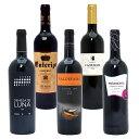 ワインセット 送料無料驚愕の美味さ スペイン超コスパワイン激旨赤5本セット 第94弾 ワイン 金賞 ギフト wine gift パーティ 料理に合う 安くて美味しい W0SC94SE