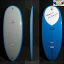 "■型落ち大特価Hawaiian Pro Designs Scorpion 5'10"" Bright Blue/Lt. Gray 【ドナルド・タカヤマ】 ロングボード 【old-hpd】 mtp5"