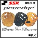 野球 SSK【エスエスケイ】一般軟式グラブ プロエッジ 内野手 右投げ用 5L