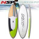 16 NSP DC SURF PRO SLX 7'11 Yハンドル・フィン・3/4デッキパッド付! mtp5