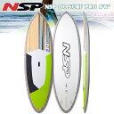 16 NSP DC SURF PRO SLX 8'6 Yハンドル・フィン・3/4デッキパッド付! mtp5