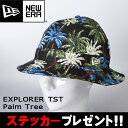 ニューエラ NEWERA 帽子 キャップ EXPLORER TST エクスプローラーハット Palm Tree ブラックパームツリー 11225062