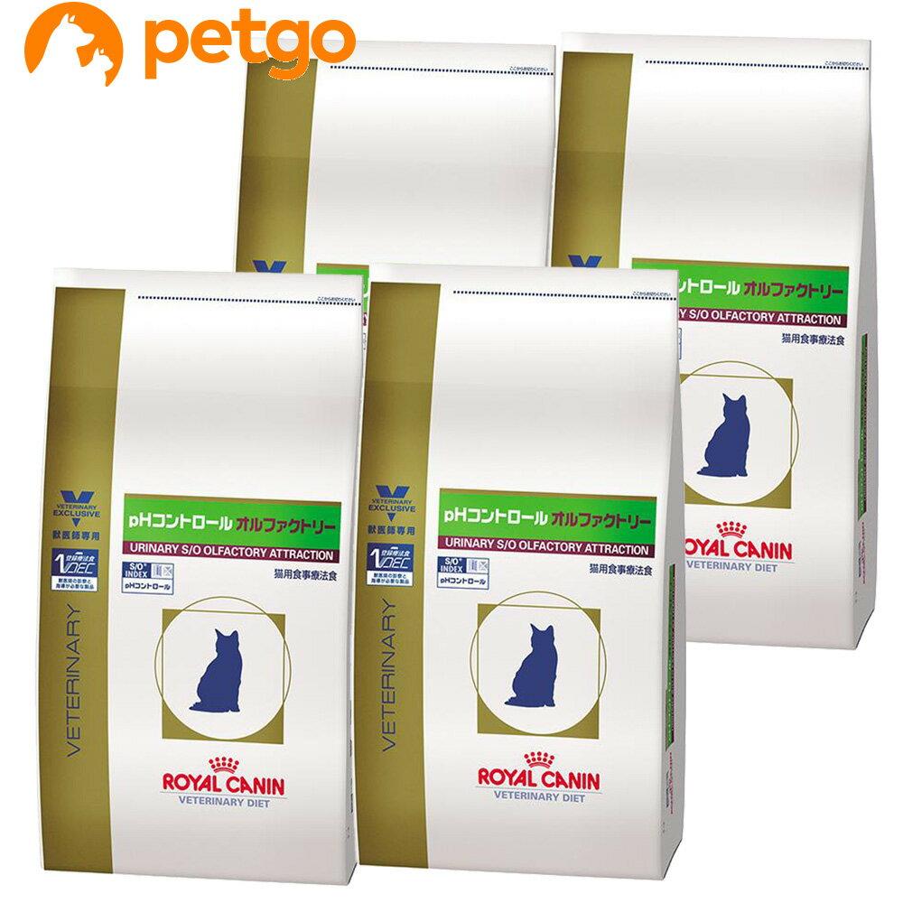 ロイヤルカナン 食事療法食 猫用 pHコントロール オルファクトリー ドライ 4kg×4袋【ケース販売】【あす楽】
