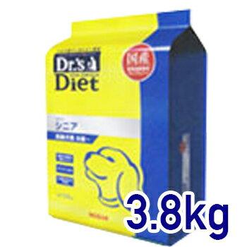ドクターズダイエット 犬用シニア 3.8kg (高齢犬用) 【あす楽_土曜日営業】...:vetsjapan:10000327