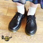 【送料無料】ドクターマーチン( DR.MARTENS ) 3ホール ギブソン(DR.MARTENS 3HOLE GIBSON 1461 W) 靴 シューズ レザー 短靴レディース(女性用)【全国5,400円以上で送料無料!】
