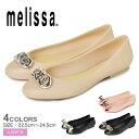 《全品対象クーポン配付》メリッサ パンプス レディース MELISSA ドール VII AD ぺたんこ フラット パンプス 靴 シューズ ブランド バレーシューズ ローヒール 飾り リボン ブラック 黒 ピンク ベージュ 33265 DOLL VII AD sale