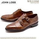 【最大3000円クーポン】【JOHN LOBB】 ジョンロブ ウィリアム ドレスシューズ ブラウン 茶色 WILLIAM 228192L 5P メンズ 紳士靴 革靴 ビジネスシューズ ブランド 高級 レザー 本革 ダブルモンクストラップ