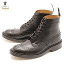 ショッピングカーズ 【限定クーポン配布】【37%OFF】トリッカーズ ブーツ TRICKERS BROGUE BOOTS STOW ストウ レザー 革靴 紳士靴 メンズ おしゃれ ダブルレザーソール エスプレッソバーニッシュ TRICKER'S 5634 5 イギリス 高級 ブランド