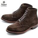 【ALDEN】 オールデン タンカーブーツ ショート 天然皮革 レザー スウェード TANKER BOOT D5912C ビジネス シューズ フォーマル スエード 革靴 ドレス 高級 ブランド おしゃれ 紳士靴