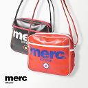 メルクロンドン ショルダーバッグ MERC エナメル エアライン AIRLINE BAG 1004107 1 8 メンズ レディース 通学 部活 運動 スポーツ おしゃれ ロゴ 大容量 ななめ掛け ポケット バレンタイン