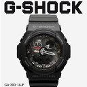 【お取り寄せ商品】 G-SHOCK ジーショック CASIO カシオ 小物 腕時計 ブラック GA-300 GA-300-1AJF メンズ 【メーカー正規保証1年】