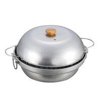 CAPTAIN STAG 大型 燻製鍋 M-6548【同梱・代引き不可】の画像