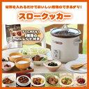 スロークッカー グリル鍋 レシピ付 3.0 L TWINBIRD ツインバード EP-4717BR ブラウン コトコト煮込んで美味しさを引き出す【100サイズ】