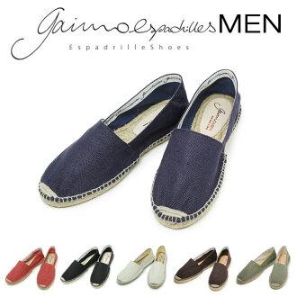 氣輔注射成型 GAIMO 高坡男人滑 Gaim GAIMO 高坡春夏鞋帆布鞋西班牙父親的一天父親的一天的禮物 10P01Oct16