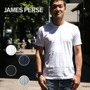【全品ポイント10倍】ジェームスパース メンズ Tシャツ クルーネック 半袖 MLJ3311 カットソー JAMES PERSE アメリカ 【レ15】