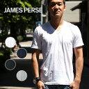 ジェームスパース メンズ Tシャツ 半袖 Vネック MLJ3352 カットソー JAMES PERSE アメリカ 父の日 父の日ギフト【レ1000】