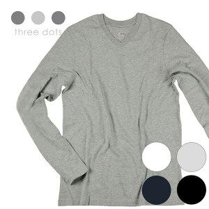 スリードッツ Tシャツ ホワイト・ブラック・ネイビー・グレー コットン アメリカ
