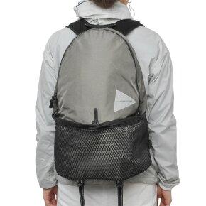 andwanderアンドワンダー20Lbackpackkhaki