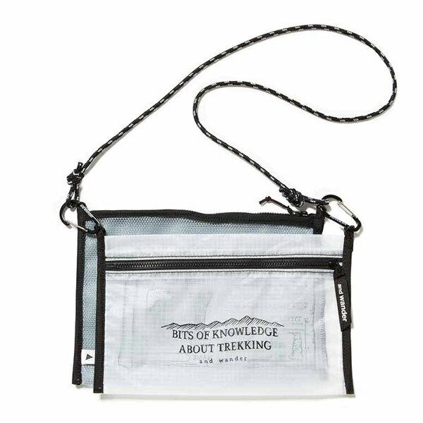 アンドワンダー twin pouch set